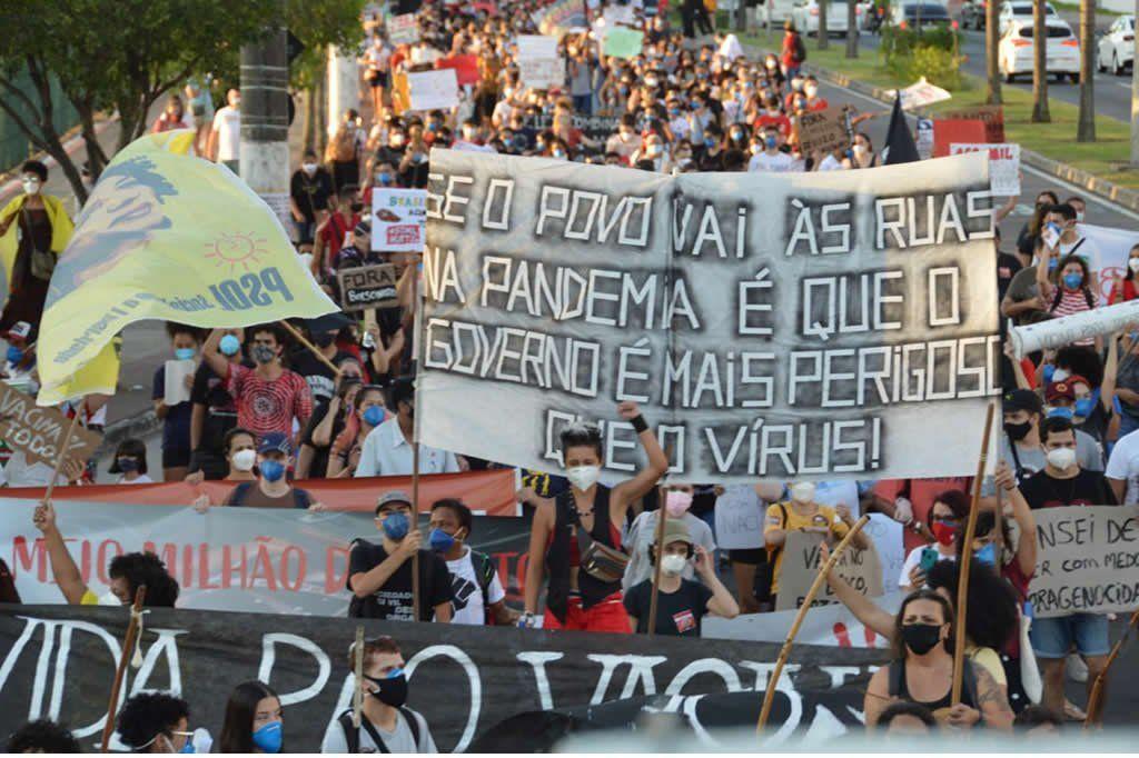 Manifestação contra Bolsonaro é confirmada para este sábado no Estado -  Século Diário